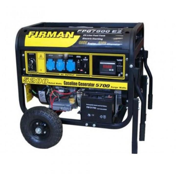 Бензиновый генератор Firman FPG 7800E2, Генераторы Firman