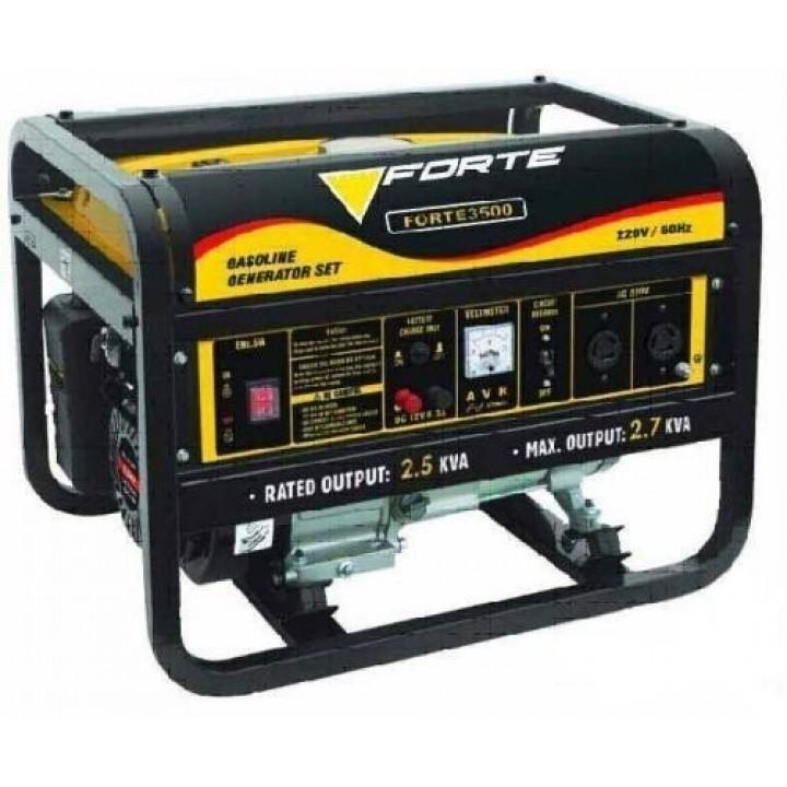 Бензиновый генератор Форте FG 3500E с электростартером, Генераторы Forte