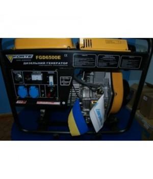 Бензиновый генератор Форте FG 6500E с электро стартером