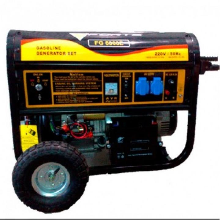 Бензиновый генератор Форте FG 8000E с электро стартером, Генераторы Forte
