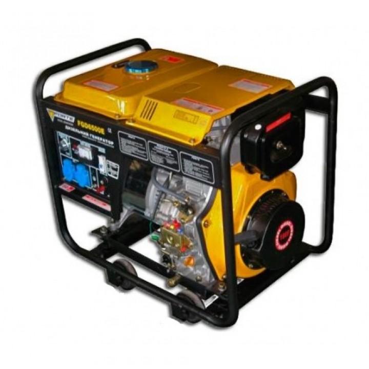 Дизельный генератор Форте FGD6500E с электро стартером, Генераторы Forte