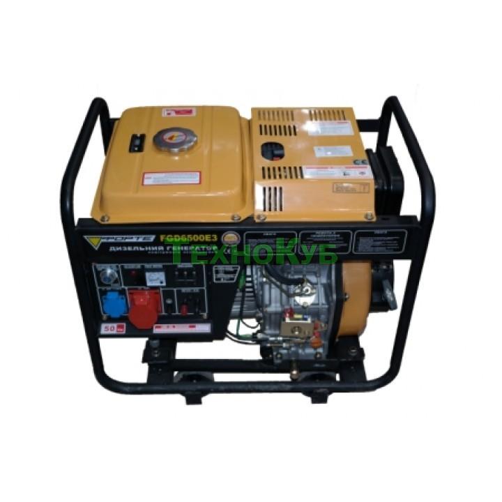 Дизельный генератор Форте FGD6500E3, Генераторы Forte