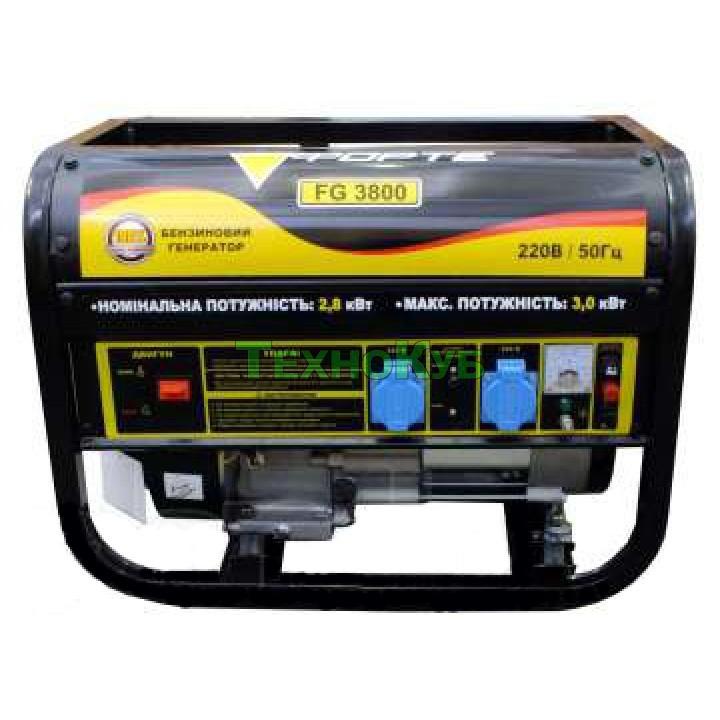 Бензиновый генератор Форте FG 3800, Генераторы Forte