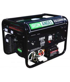Бензиновый генератор Iron Angel EG 3200E с электро стартером