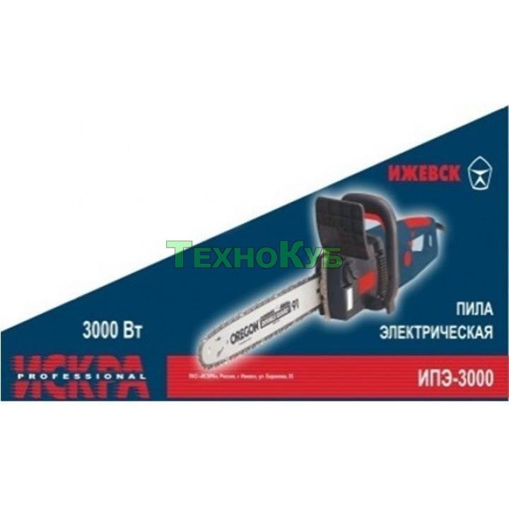 Электропила Искра Professional ИПЭ-3000 (2 шины,4 цепи)