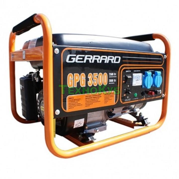 Бензиновый генератор Gerrard GPG 3500, Генераторы Gerrard