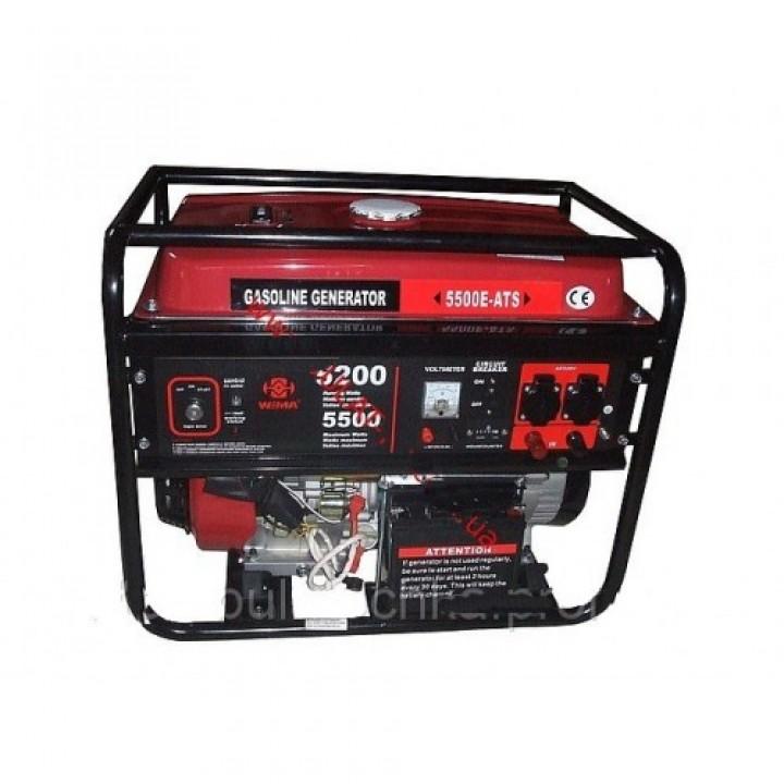 Бензиновый генератор WEIMA WM5500 ATS с автоматикой, Генераторы Weima
