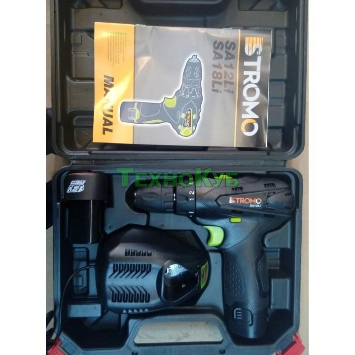 Аккумуляторный шуруповерт Stromo SA 12 Li