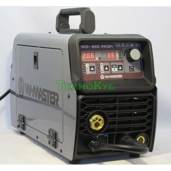 Сварочный полуавтомат WMaster MIG-280 Profi + Редуктор СО2