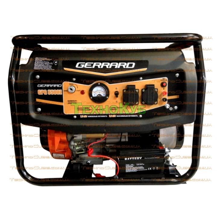Бензиновый генератор Gerrard GPG 3500E с электро стартером, Генераторы Gerrard