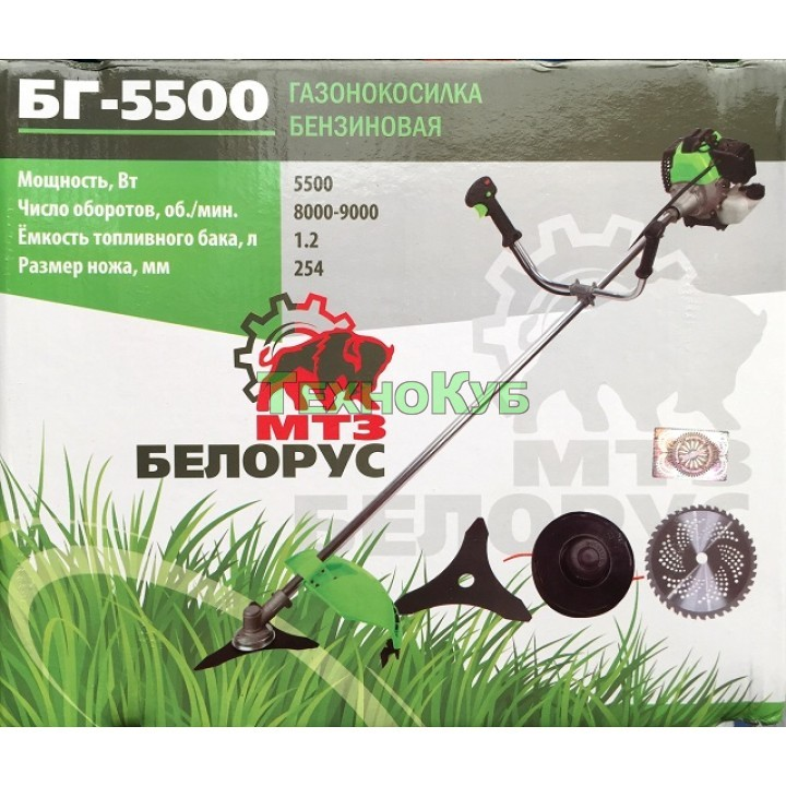 Мотокоса Белорус МТЗ БГ-5500