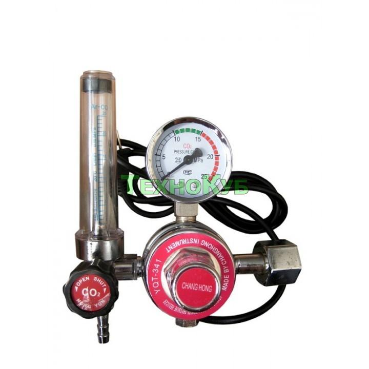 Углекислотный редуктор с подогревом CO2 220 Вольт