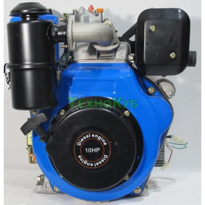 Двигатель дизельный Беларусь 186FE 10,0 л.с. шлиц, электро-стартер