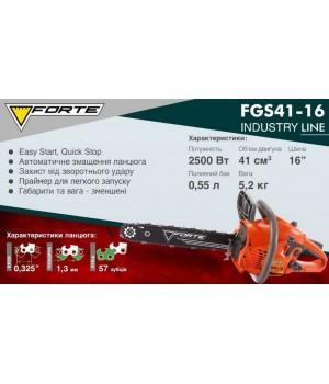 Бензопила Forte FGS41-16