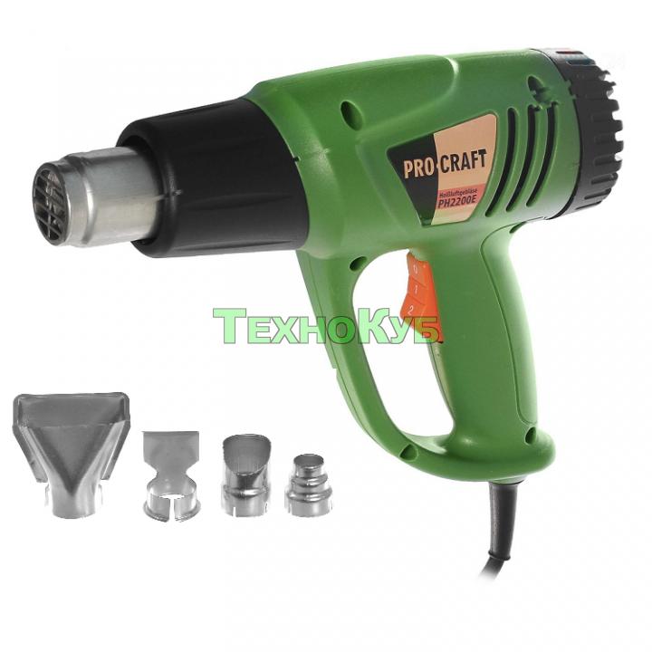 Фен промышленный Procraft PH-2200E