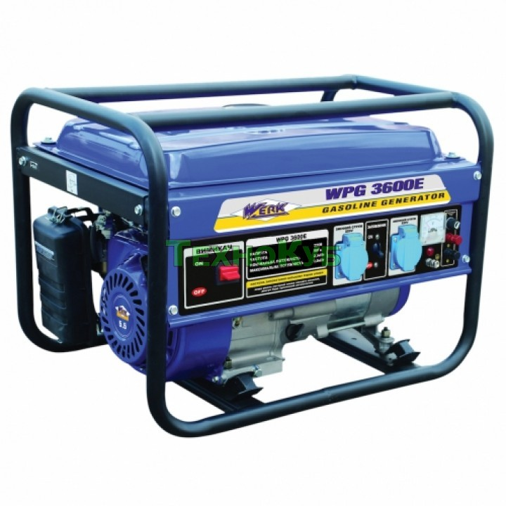 Бензиновый генератор Werk WPG3600E