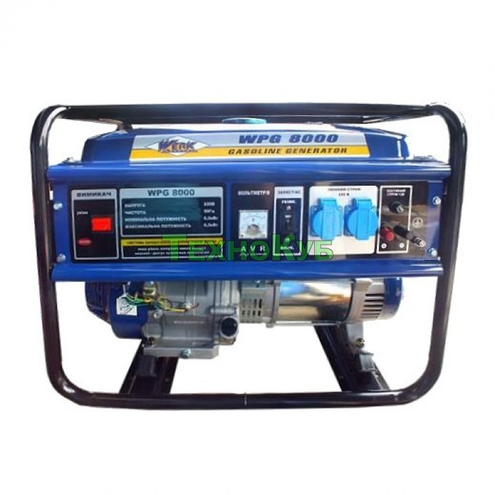 Бензиновый генератор Werk WPG8000