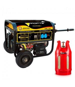 Газобензиновый генератор Форте FG LPG 6500E