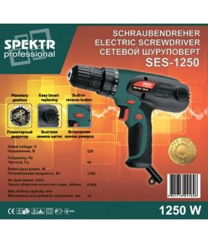 Сетевой шуруповерт Spektr SES-1250