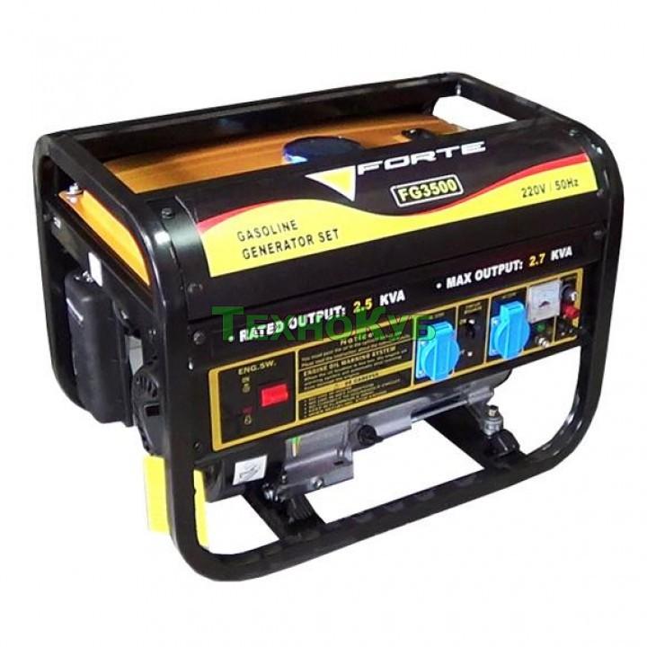 Бензиновый генератор Форте FG3500, Генераторы Forte