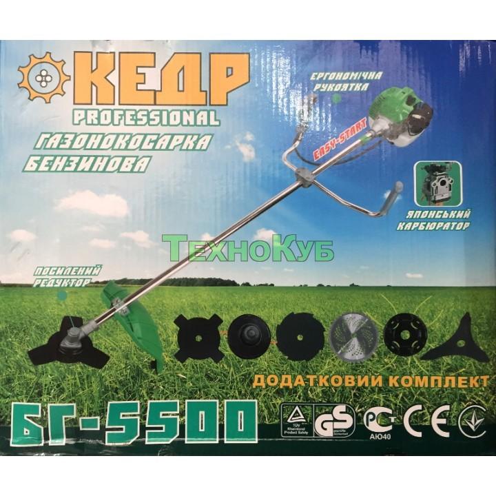 Мотокоса Кедр БГ-5500
