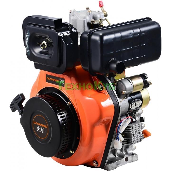 Двигатель дизельный Gerrard G186E с электростартером