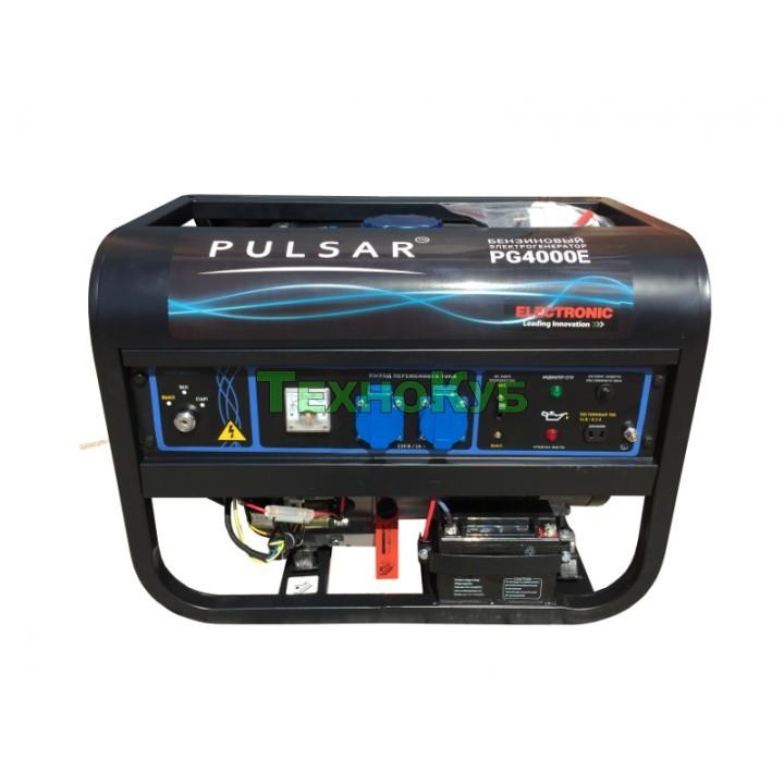Бензиновый генератор Pulsar PG-4000E с электростартером