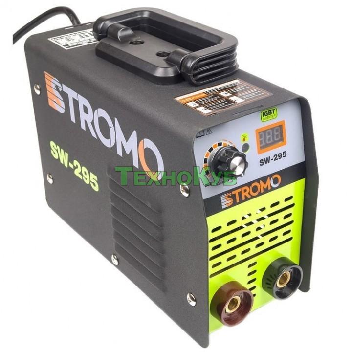 Сварочный инвертор Stromo SW250 с дисплеем новая модель
