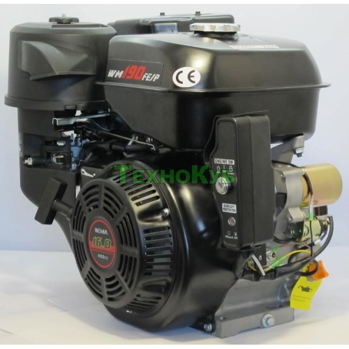 Двигатель бензиновый Weima WM190FE-S (16 л.с.) шпонка