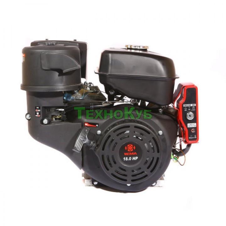 Двигатель бензиновый Weima WM192FE-S 18 л.с. шпонка