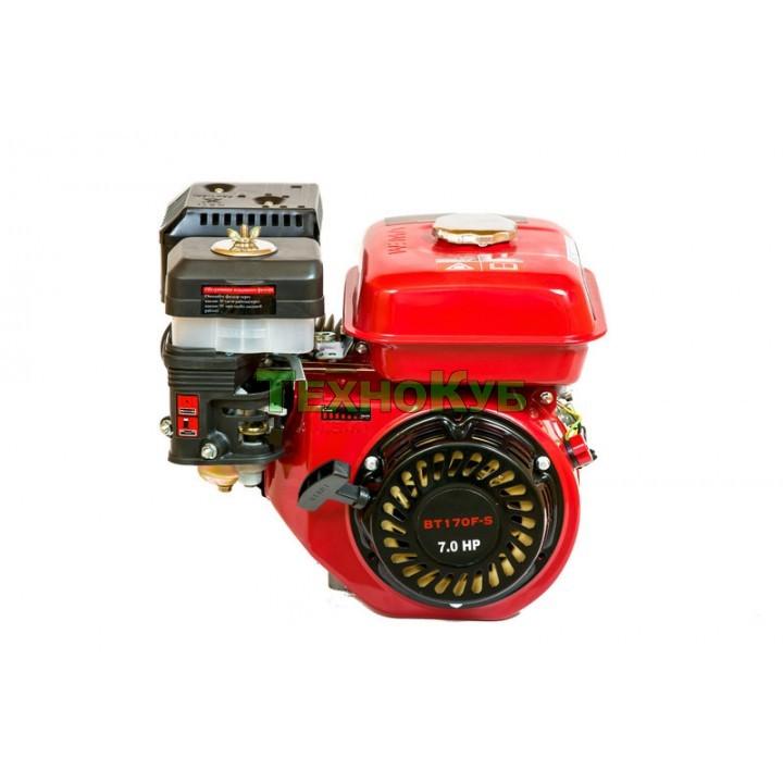 Двигатель бензиновый Weima (Вейма) ВТ170F-S (7,0 л.с.) шпонка, вал 20мм