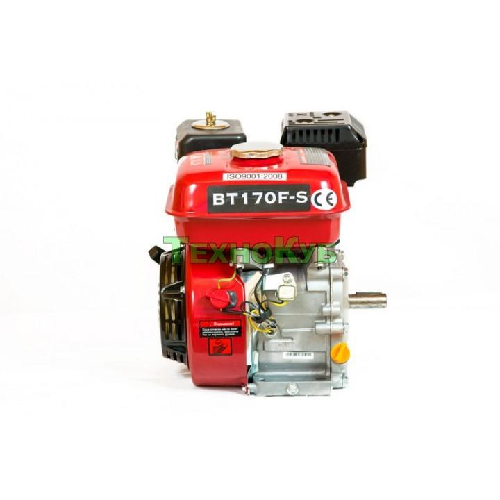 Двигатель бензиновый Weima ВТ170F-S2P под шпонку 20мм., 7,0 л.с., шкив на 2ручья