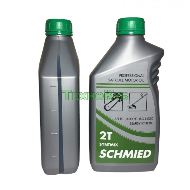Масло для садово-парковой техники Schmied 2T Syntmix Professional