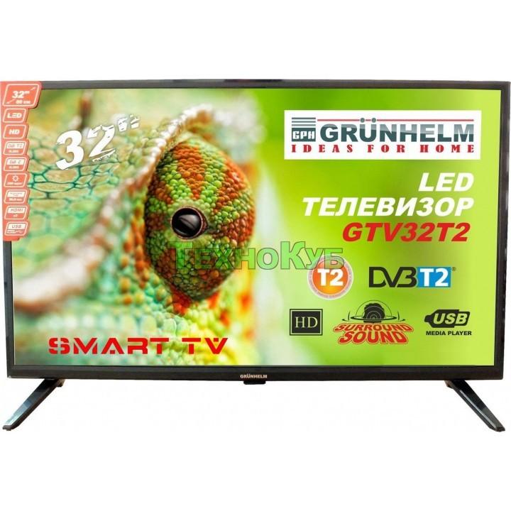 Телевизор Grunhelm GTV32T2FS (HD SMART)