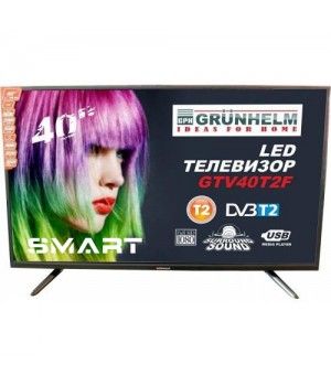 Телевизор Grunhelm GTV43T2FS (Full HD SMART)