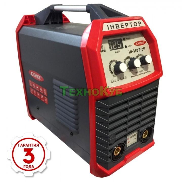 Сварочный инвертор Kende IN-350 Profi (220/380 Вольт) - отзывы, цена, купить в Украине