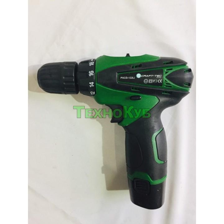 Аккумуляторный шуруповерт Craft-tec PXCD-122 Li