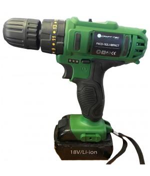 Аккумуляторный шуруповерт Craft-tec PXCD-182 Li-impact (ударный)