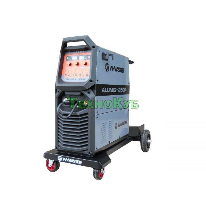 Инверторный сварочный полуавтомат для сварки алюминия WMaster MIG ALUMIG 250 P Dpulse