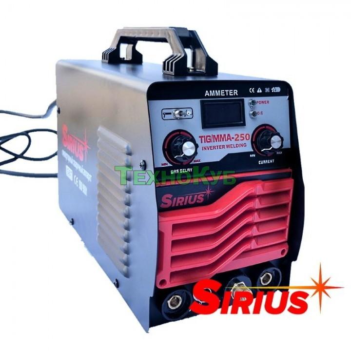 Аргонодуговой инверторный аппарат Sirius TIG/MMA-250