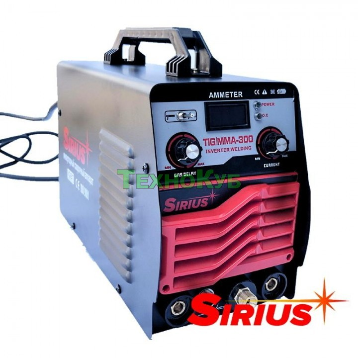 Аргонодуговой инверторный аппарат Sirius TIG/MMA-300