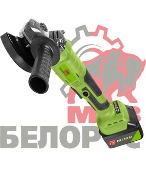 Аккумуляторная болгарка Белорус МШУ 125/21