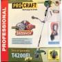 Мотокоса Procraft T-4200EL с электро и ручным стартером