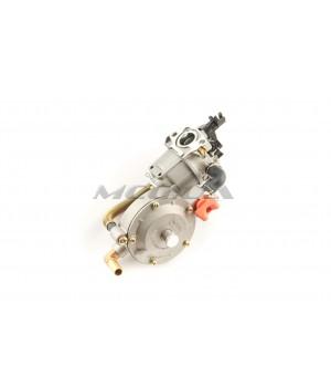 Карбюратор м/б 168F/170F (6,5/7Hp) с газовым редуктором