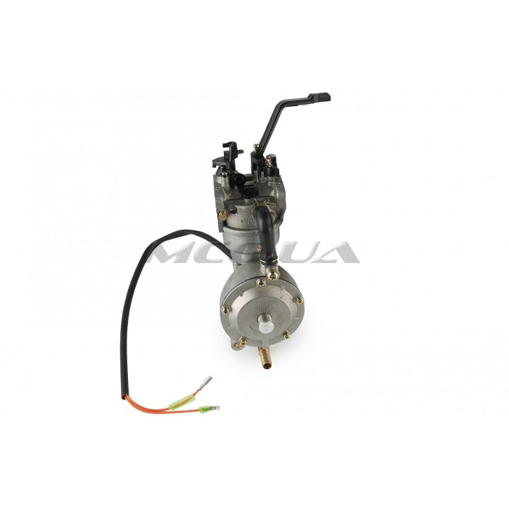 Карбюратор м/б 177F/188F (9/13Hp) с газовым редуктором и электромагнитным клапаном